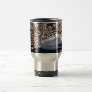 American White Pelican 15 Oz Stainless Steel Travel Mug