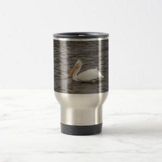 American White Pelican In Breeding Condition Mug