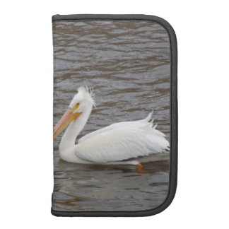 American White Pelican In Breeding Condition Planners