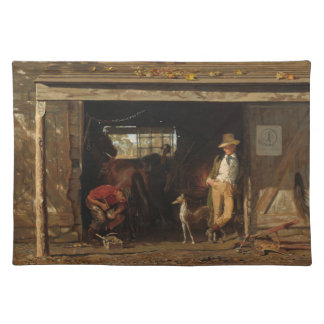American Wild West Blacksmith and Cowboy Placemat