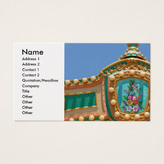 Americana - Amusement decor Business Card