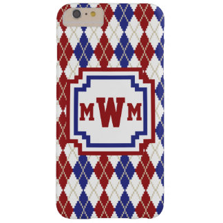 Americana Argyle iPhone Case-Mate Case Barely There iPhone 6 Plus Case