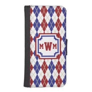 Americana Argyle Smartphone Wallet Case iPhone 5 Wallet Case