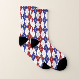 Americana Argyle Socks 1