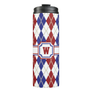 Americana Argyle Thermal Tumbler
