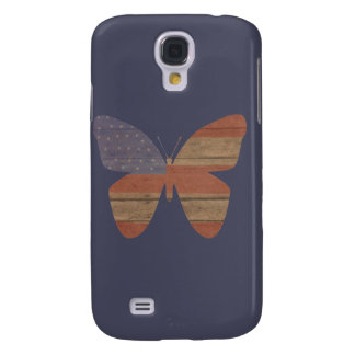 Americana Butterfly Samsung Galaxy S4 Cases