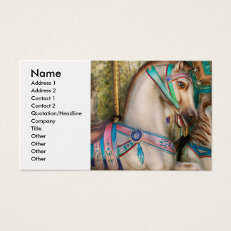 Americana - Carousel beauties Business Card