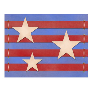 Americana Craft Postcard