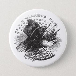 Americana Eagle Button