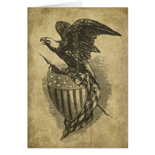 Americana Eagle- Prim Lil Note Cards