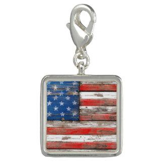Americana Flag Charm