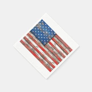 Americana Flag Disposable Napkins