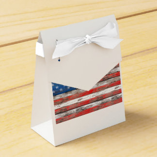 Americana Flag Favor Box