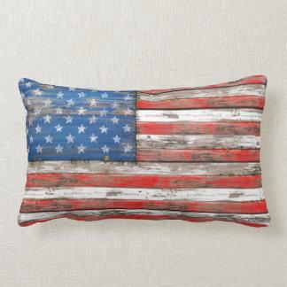 Americana Flag Lumbar Pillow
