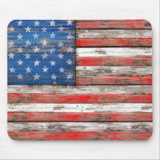 Americana Flag Mouse Pad