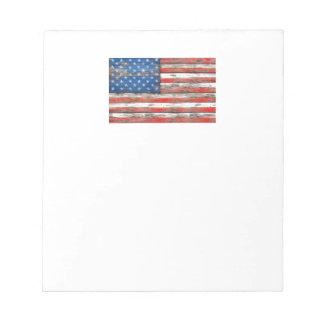 Americana Flag Notepad