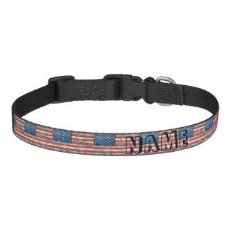 Americana Flag Pet Collar