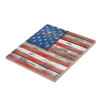 Americana Flag Tile