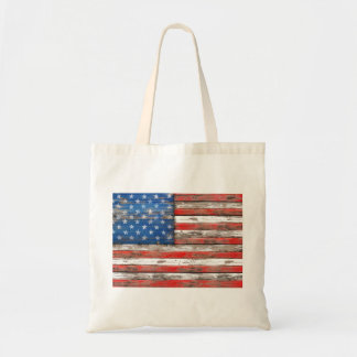 Americana Flag Tote Bag