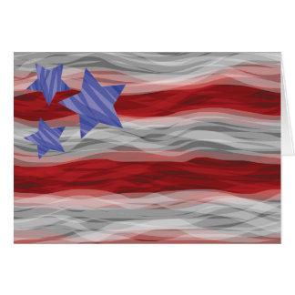 Americana Greeting Card Blank Inside