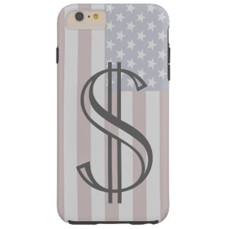 Americana iPhone Case Gifts USA Patriotic Money 4 Tough iPhone 6 Plus Case