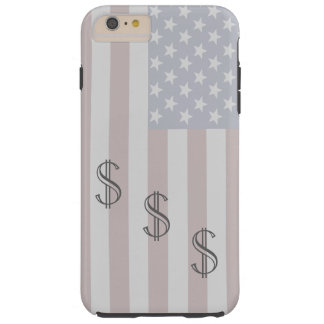 Americana iPhone Case Gifts USA Patriotic Money 5 Tough iPhone 6 Plus Case