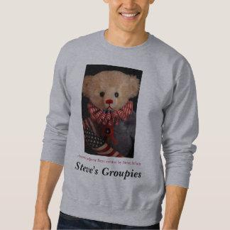 Americana Jester Bear   Sweatshirt