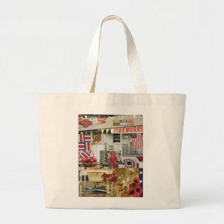 Americana Large Tote Bag
