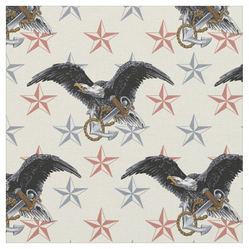 Americana Nautical Fabric