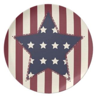 Americana Party Plates