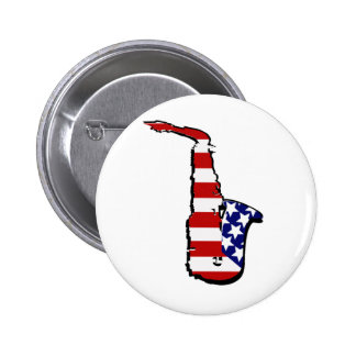 Americana Saxophone Buttons