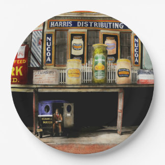 Americana - Signs - Feeding time 1936 9 Inch Paper Plate