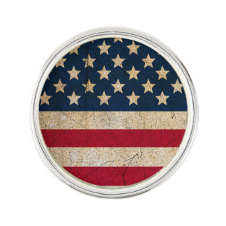 Americana Stars amd Stripes USA Flag Lapel Pin