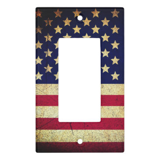 Americana Stars & Stripes Light Switch Cover