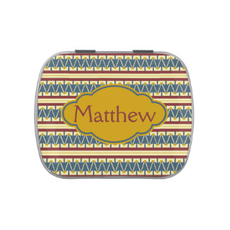 Americana Vintage Drum Personalized Candy Tin