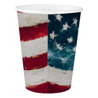 Americana Vintage Party Cup Paper Cup
