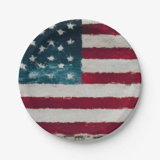 Americana Vintage Party Plates