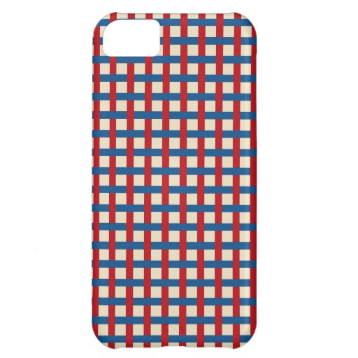 Americana Weave iPhone 5C Covers