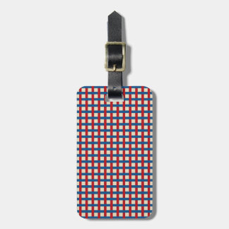 Americana Weave Tags For Bags