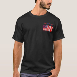 AMERICANADIAN black tee shirt