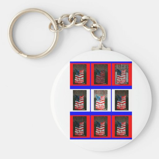AmericanFlag.jpg Key Chain