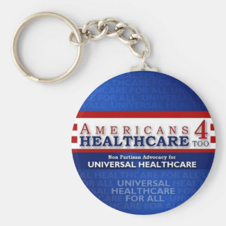 Americans 4 Healthcare Keychain