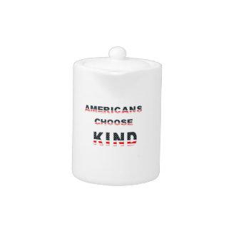 Americans choose kind