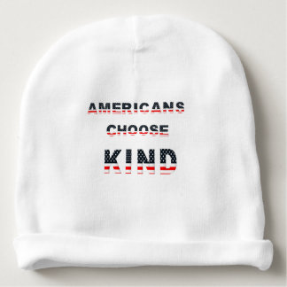 Americans choose kind baby beanie