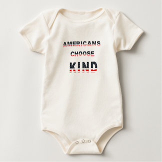 Americans choose kind baby bodysuit