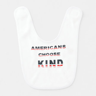 Americans choose kind bib