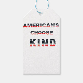 Americans choose kind gift tags