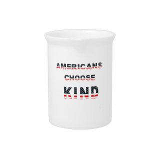 Americans choose kind pitcher