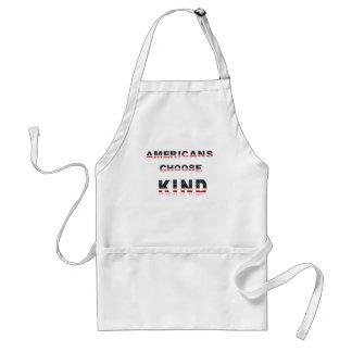 Americans choose kind standard apron