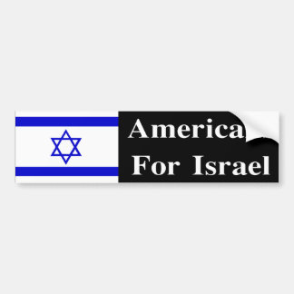 Americans For Israel Bumper Stickers